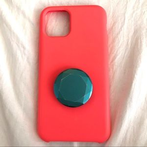 Neon pink iPhone 11 Pro case!